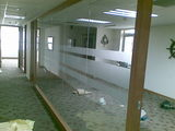 青岛玻璃贴膜玻璃隔断贴膜律师事务所玻璃贴膜案例